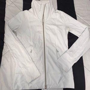 Lululemon white zip up jacket 4
